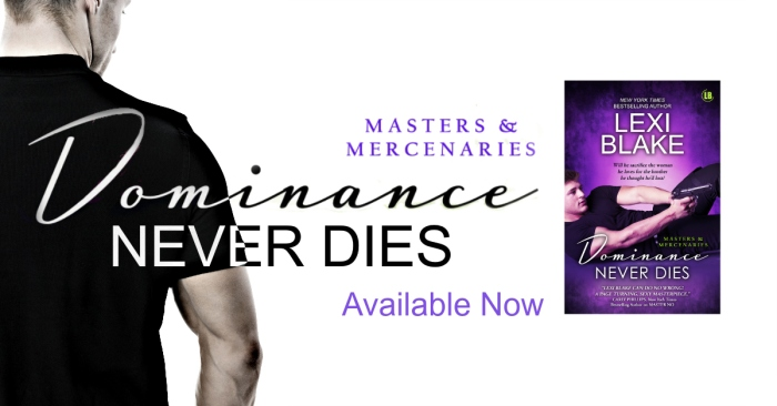 🌟🌟🌟4 🍀 Review-Dominance Never Dies by Lexi Blake🌟🌟🌟