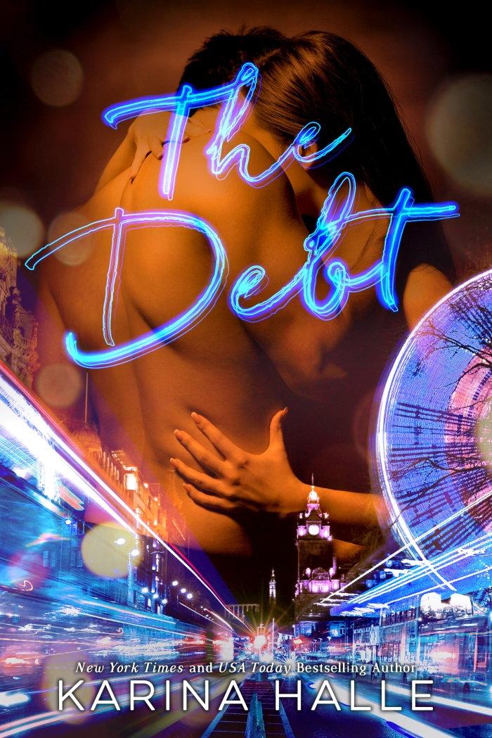🌟🌟🌟COVER REVEAL-The Debt by Karina Halle 🌟🌟🌟